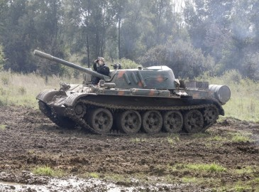 Tank driving Germany