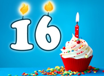 Verjaardag 16 Jaar Met Gratis Gepersonaliseerde E Cadeaubon